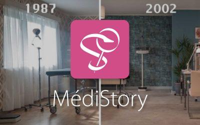 Invitation pour le live de MédiStory 4 par Prokov Éditions