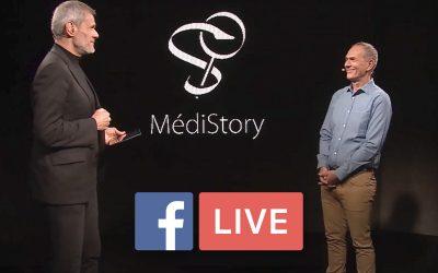 Live facebook de Prokov Éditions pour MédiStory 4