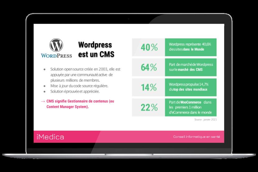 inforgraphie sur WordPress en 2021